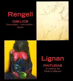 peintures et dessins . catalogue . angel rengell y luccia lignan . angel rengell & luccia lignan . angel rengell . luccia lignan . angel . rengell . luccia . lignan . angel rengell and luccia lignan co.uk . angel rengell contemporary art . luccia lignan contemporary art . publication .